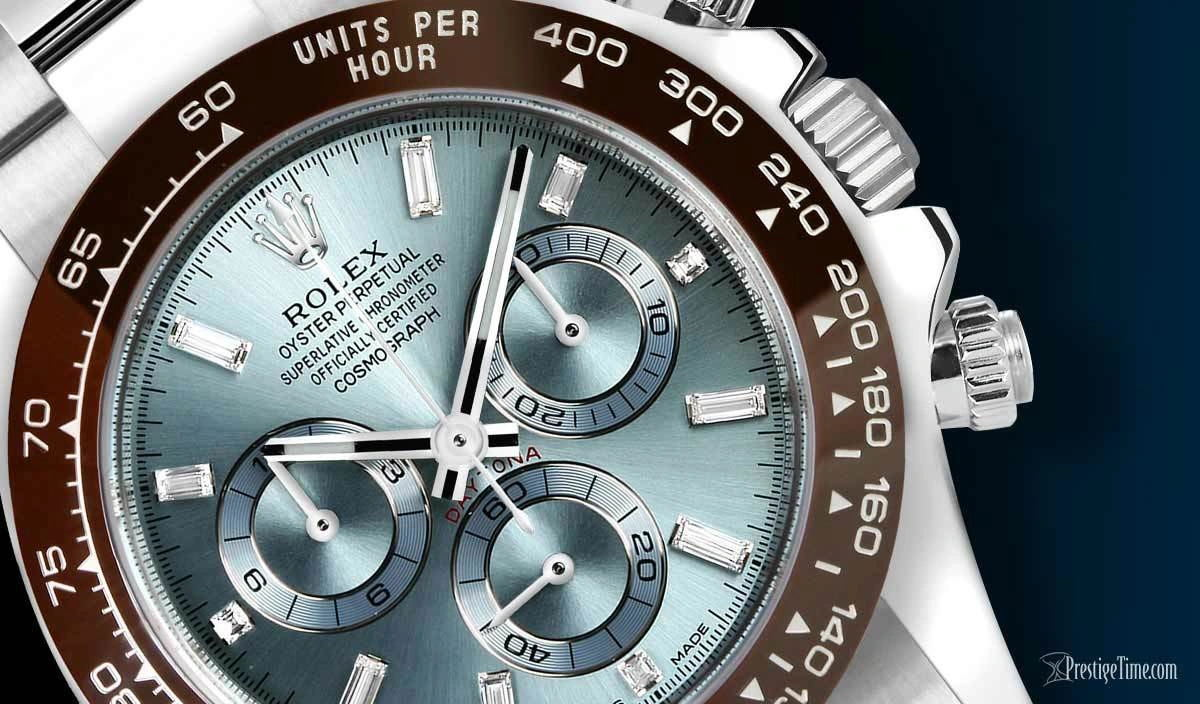 On Hands of High Quatily Rolex Oyster Perpetual Cosmograph Daytona Replica Watches