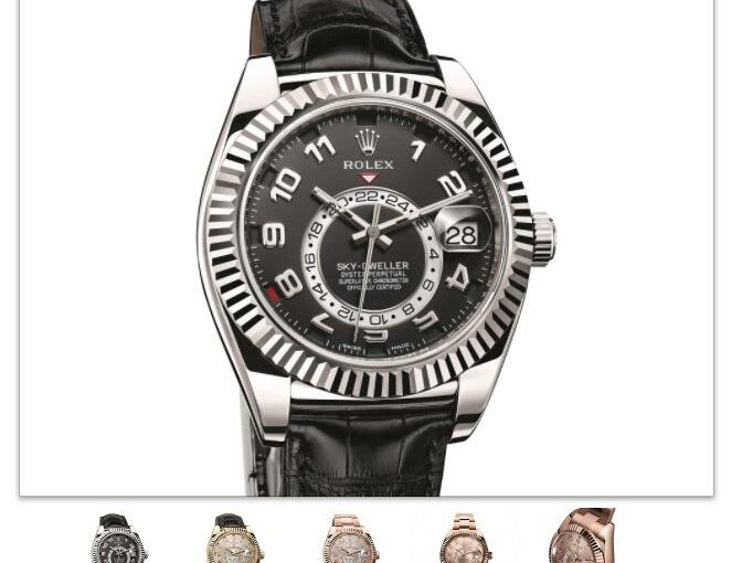 [New] Rolex Oyster Perpetual Sky-Dweller Replica watches